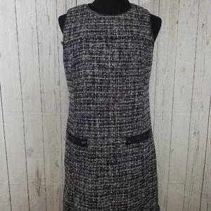 Ann Taylor Size 6 Dress Fringe Detail Career